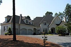 Jones home in Grande Pines, Foxfire, NC